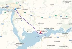 маршрут эвакуатора в казани: 16К-1091 - г. Казань (79 км), буксир 24
